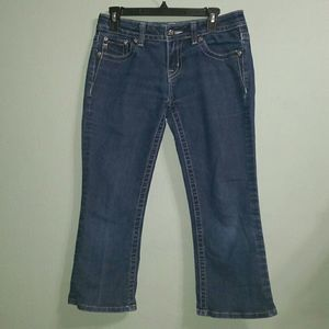 Miss Me Easy Boot Jeans Buckle Size 27 Inseam 23